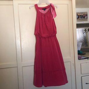Pink flows dress s:6